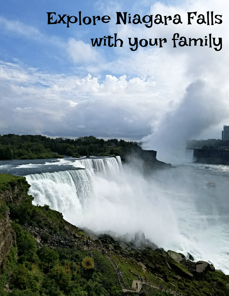 Explore Niagara Falls with the entire family