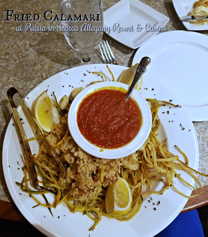 Fried Calamari at Patria