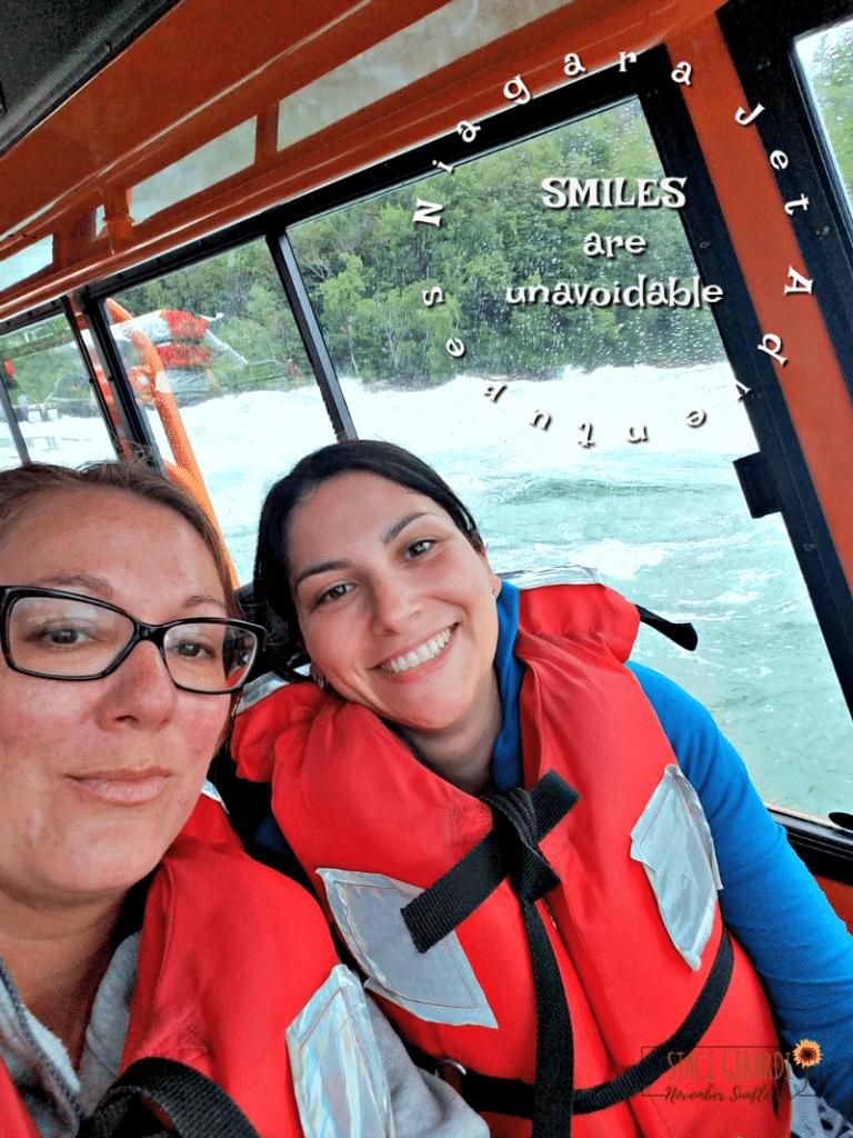 NJA - Niagara Falls River - White Water Jet Boat