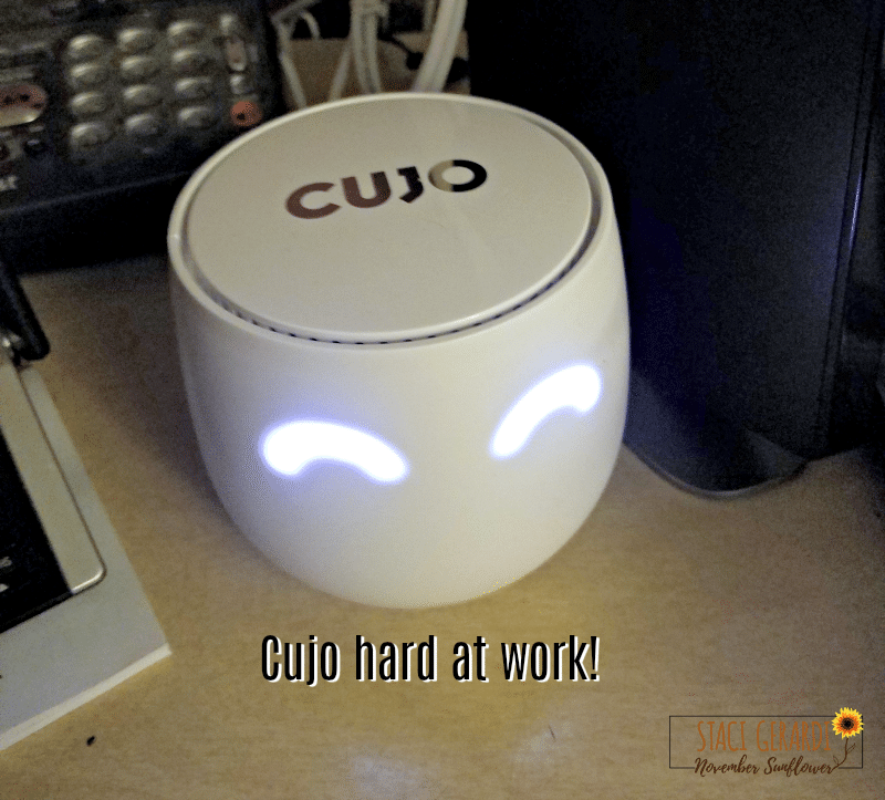 CUJO Smart Firewall hard at work