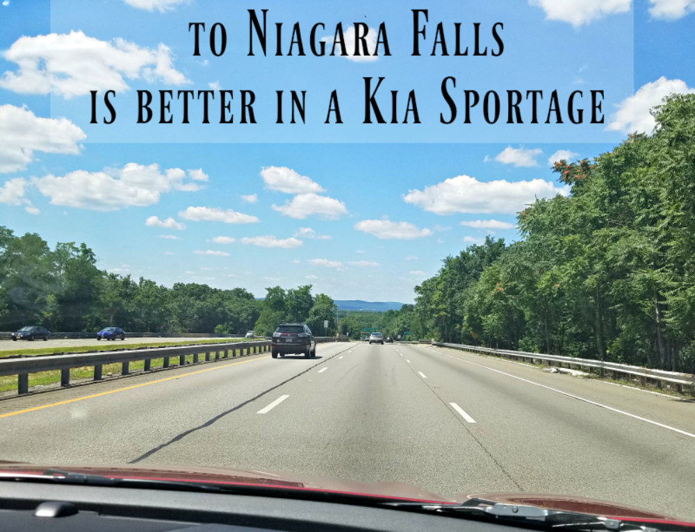 New York road trip to Niagara Falls is better in a Kia Sportage