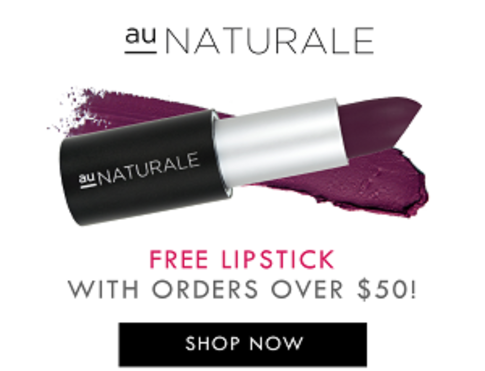 Clean beauty revolution is Au Naturale Cosmetics promise to customers