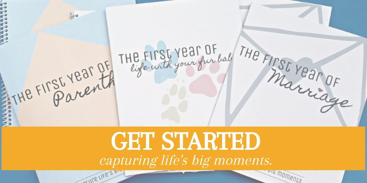 Get started with your Keepsake Journals
