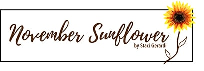 November Sunflower Logo