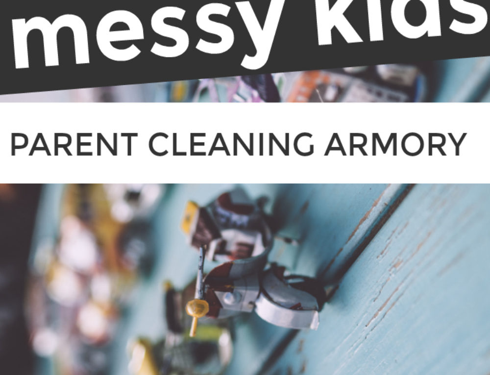 Messy kids? What every parent needs in their cleaning armory