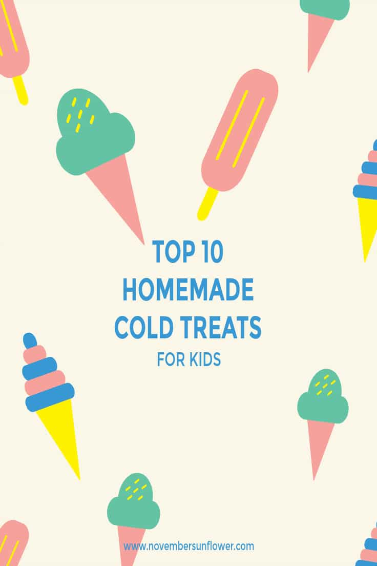 homemade cold treats for kids