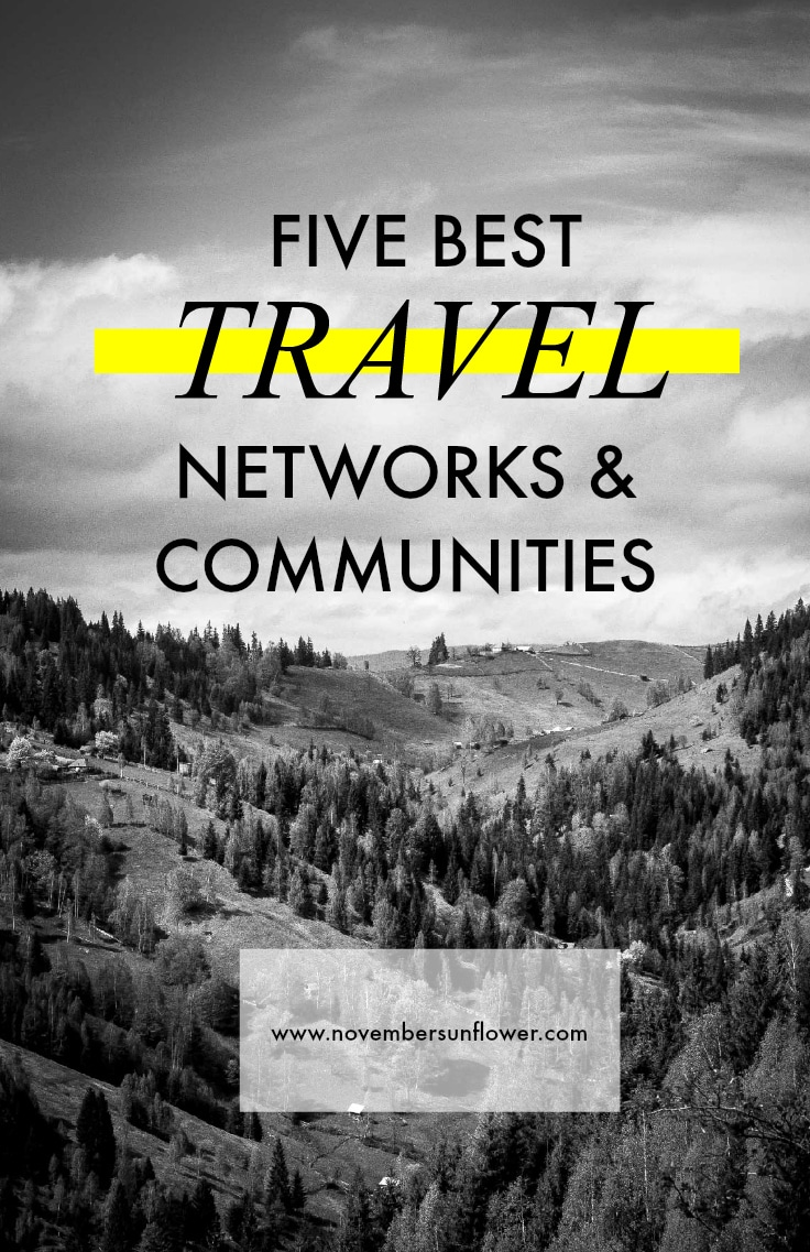 travel networks and communities