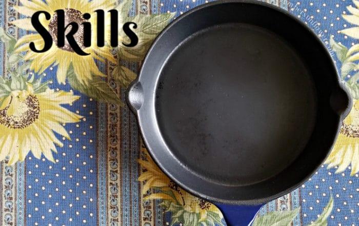 Enhance Cooking Skills Cast Iron Pan