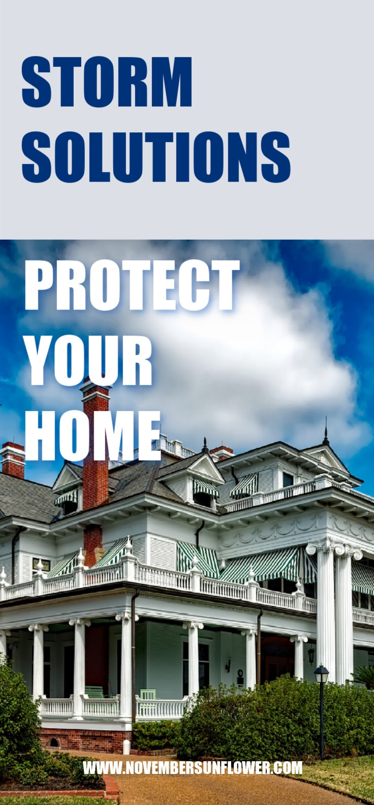 Protect your home - storm solutions