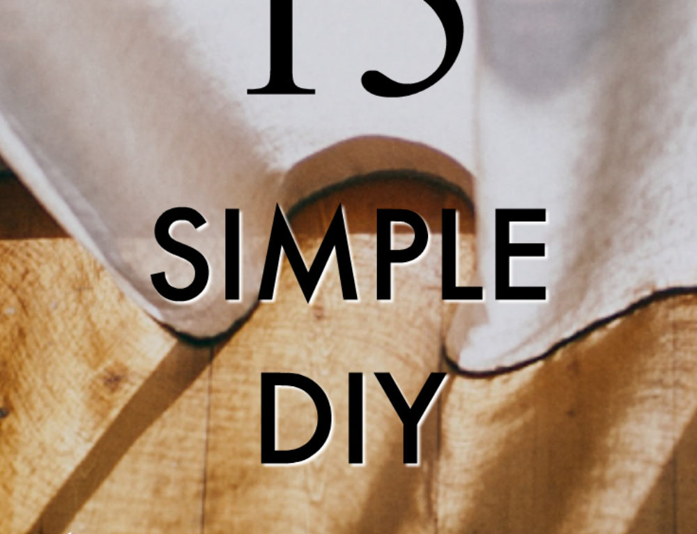 15 simple DIY home improvement projects