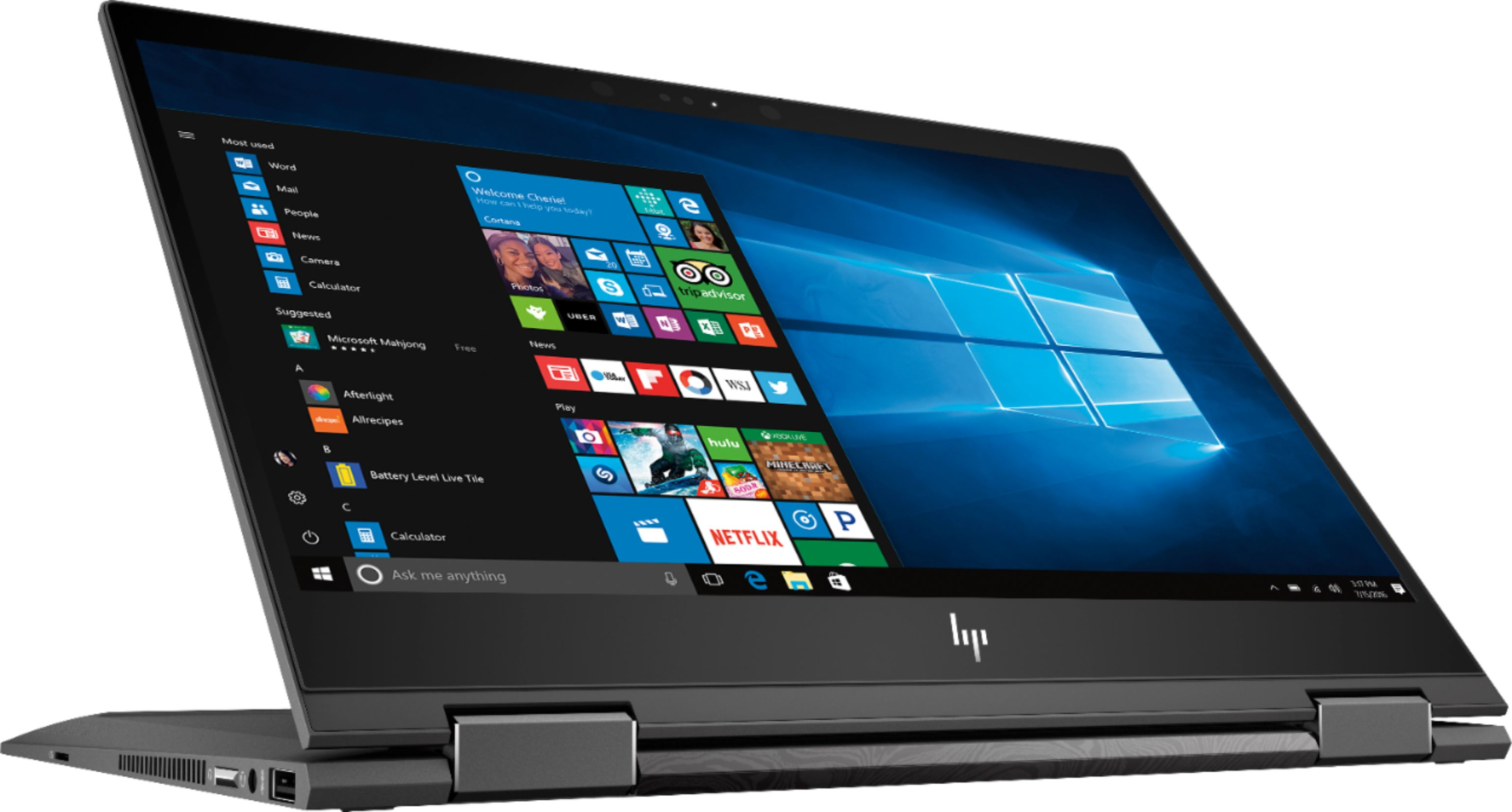 Considering a new laptop? Torn between a laptop and a tablet? No worries. HP Envy offers two-in-one technology, bringing BOTH to one device! Learn more.