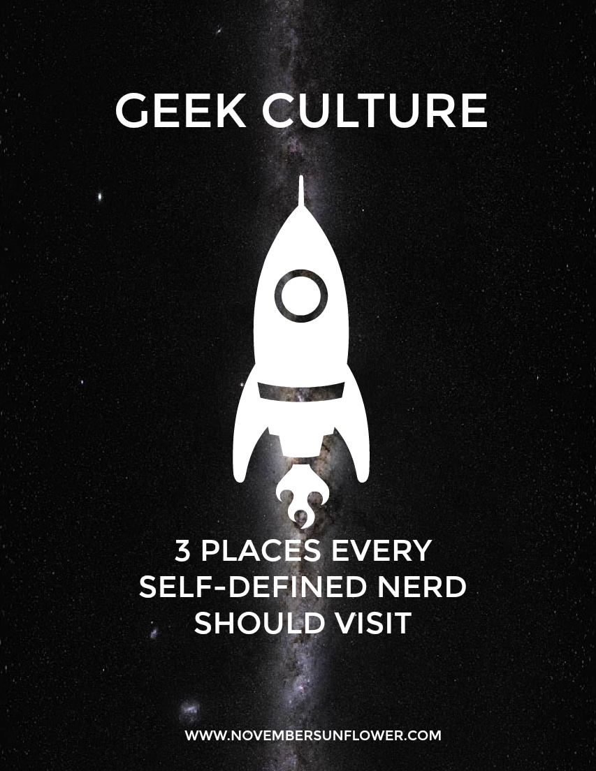 Geek Culture - self-defined nerd