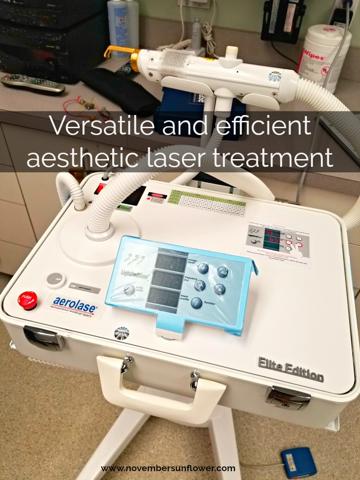 aesthetic laser treatment aerolase neo