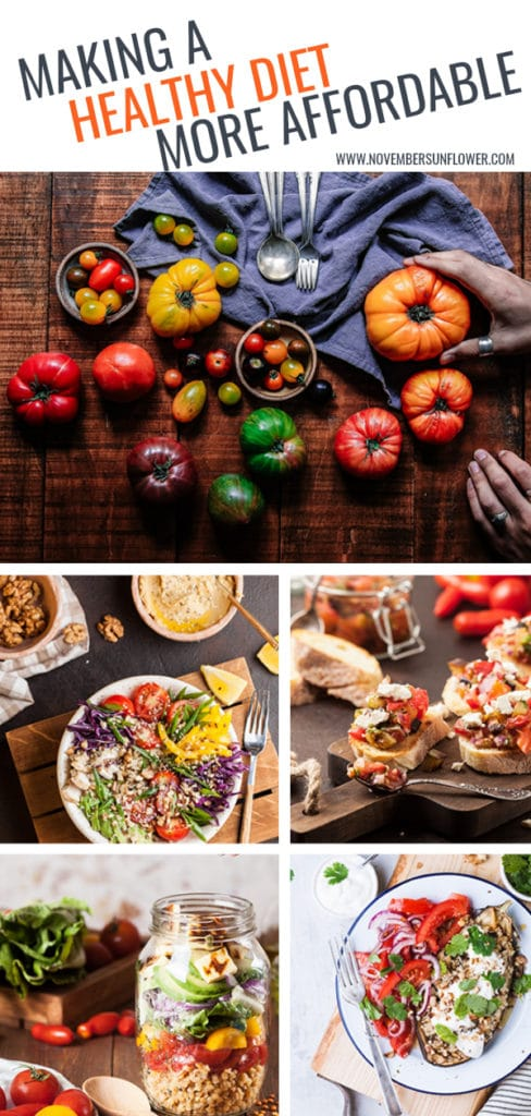 Making a healthy diet more affordable
