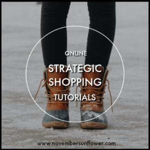 plenty of online strategic shopping tutorials
