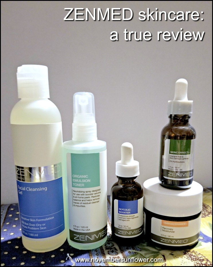 Zenmed Skincare honest review