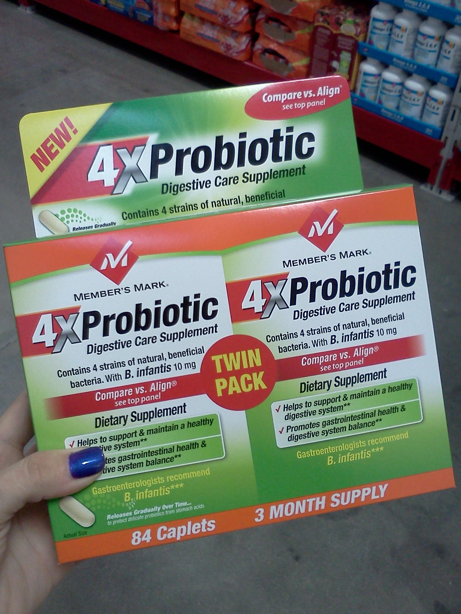 Member's Mark Probiotic