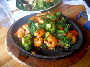 Sizzling Asian Shrimp & Broccoli