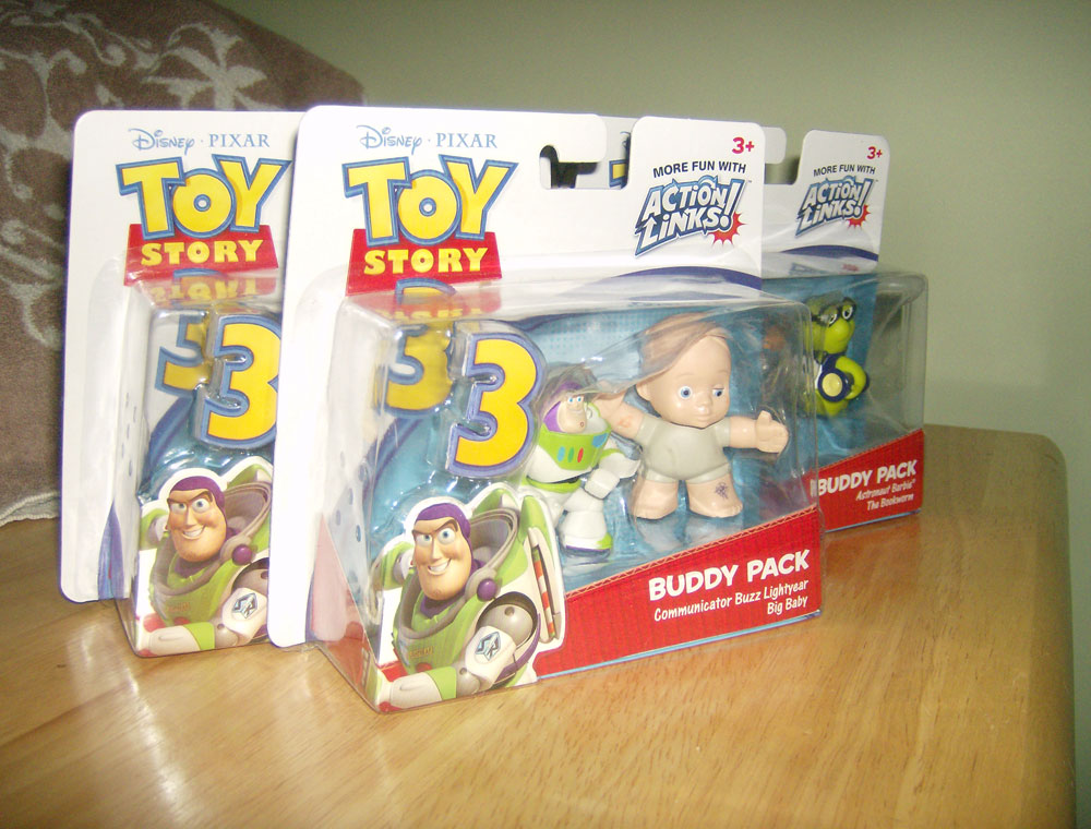 Toy Story 3 Buddy Packs