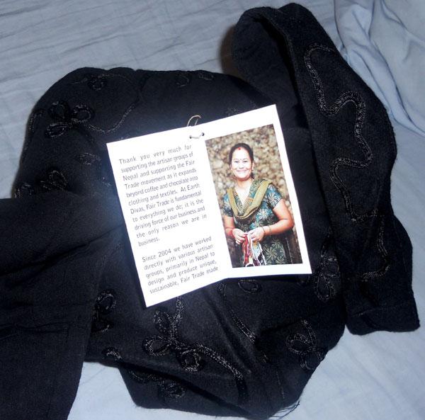 Earth Divas Fair Trade Hobo Bag