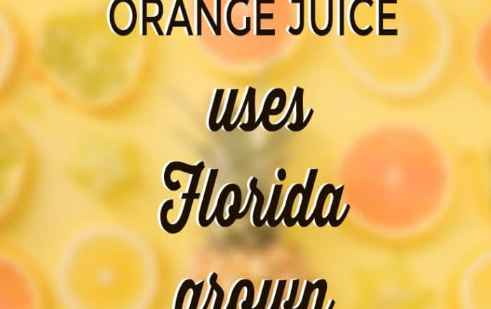 florida grown oranges used in Florida's Natural OJ