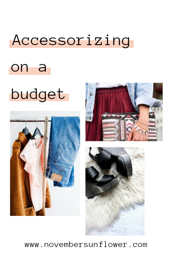 Accessorizing on a budget