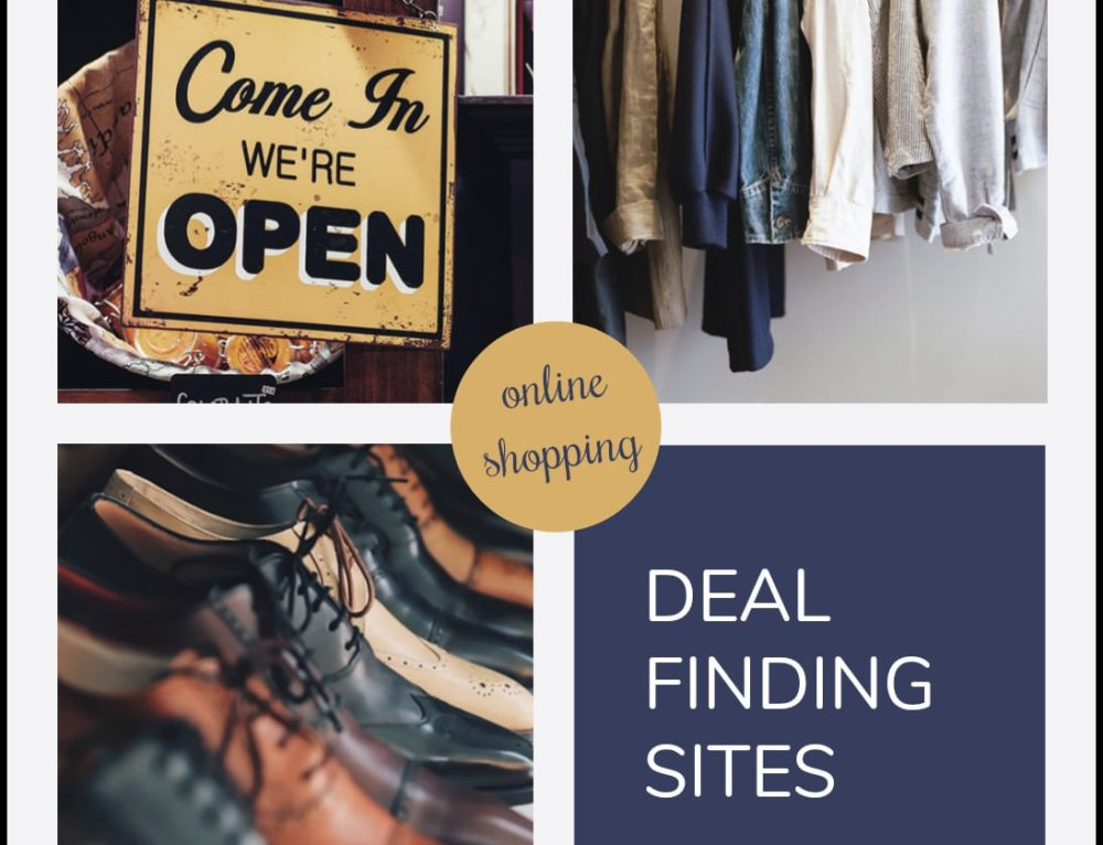 Deal FINDING Sites to check out before starting your online shopping