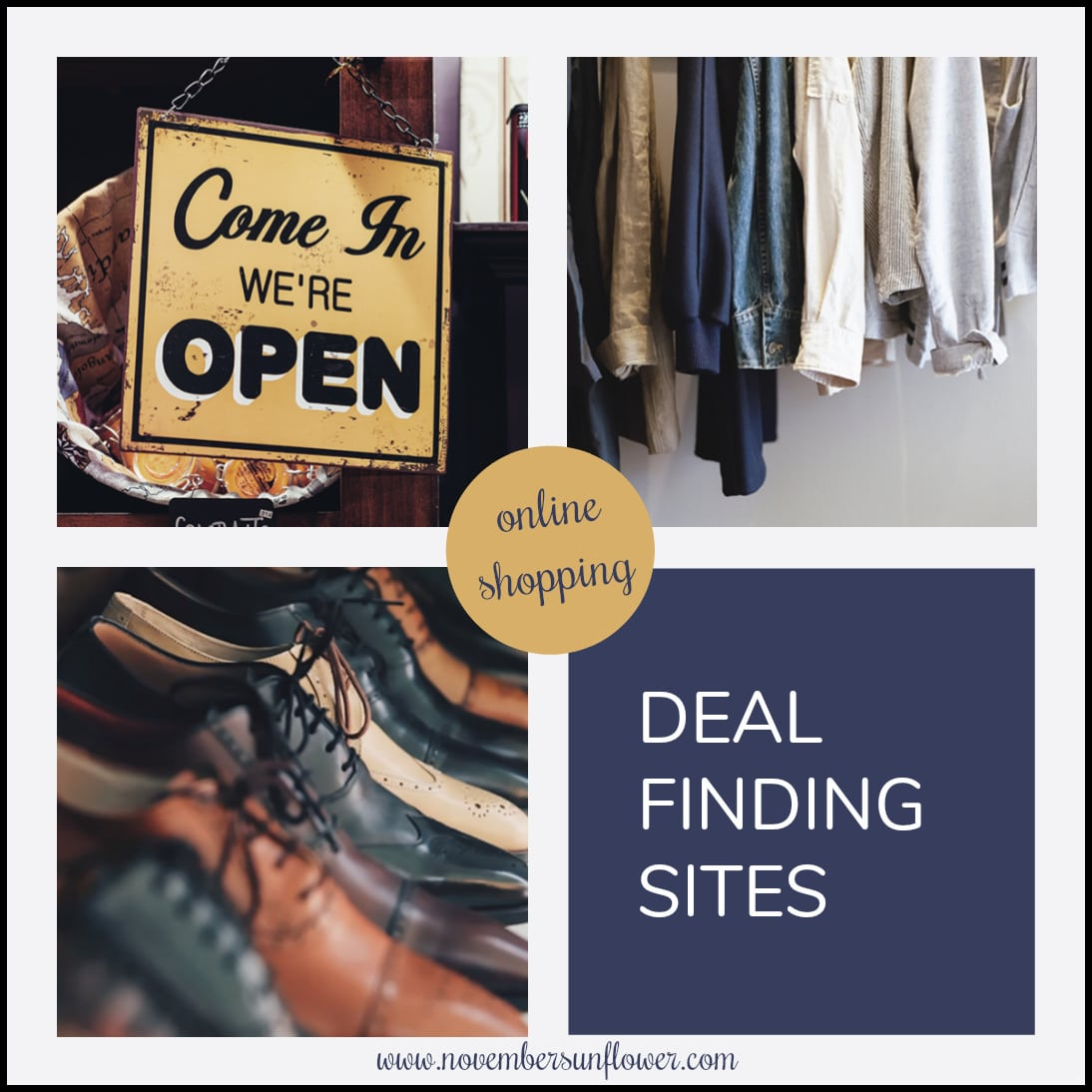 deal finding sites for online shopping adventures