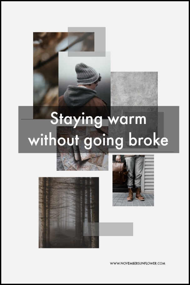 staying warm without going broke
