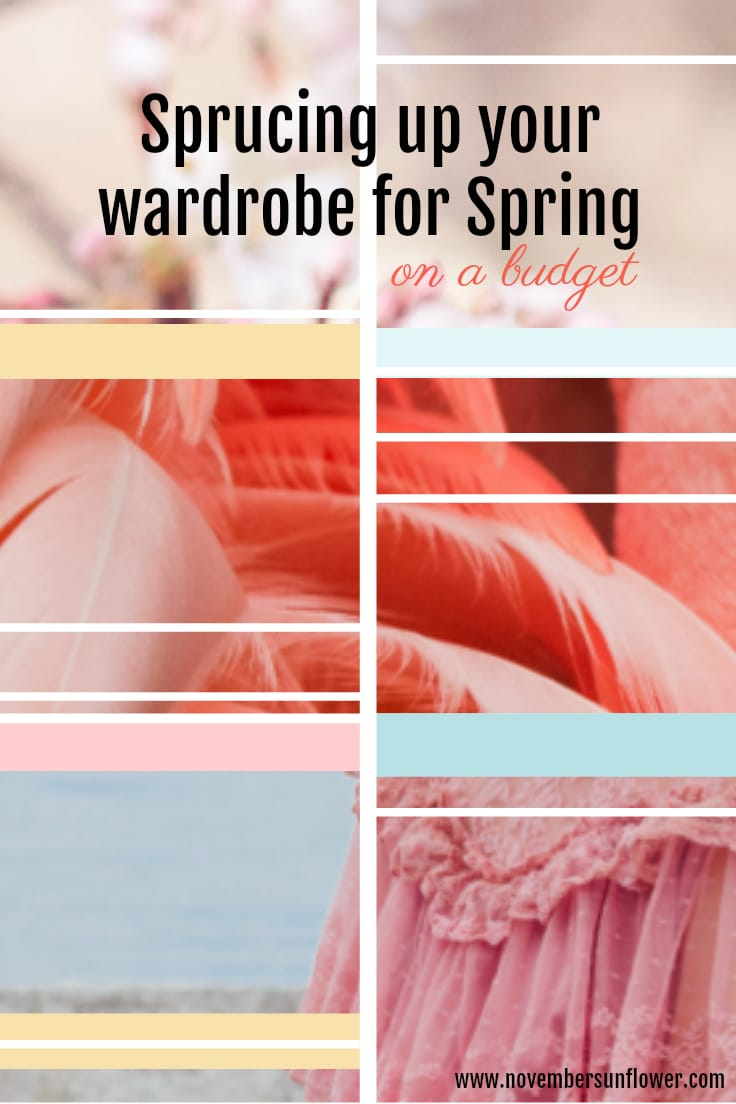 Sprucing up wardrobes for Spring