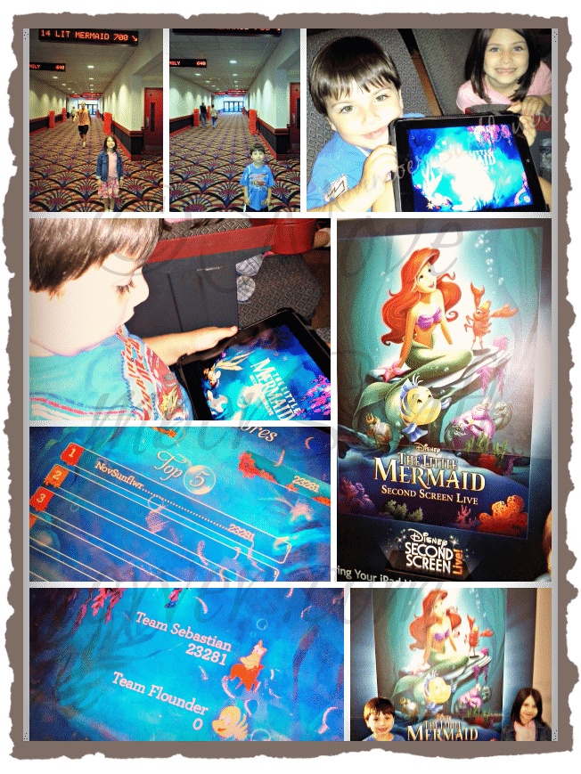 #disney #littlemermaid #secondscreen