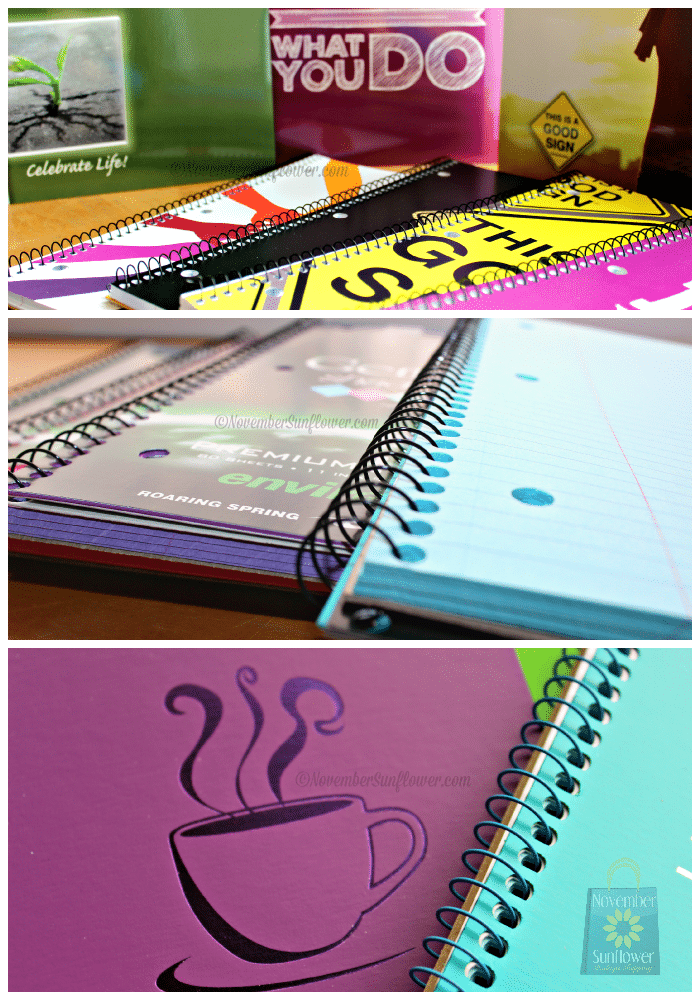 notebooks and office goodies #shopletreviews roaring springs