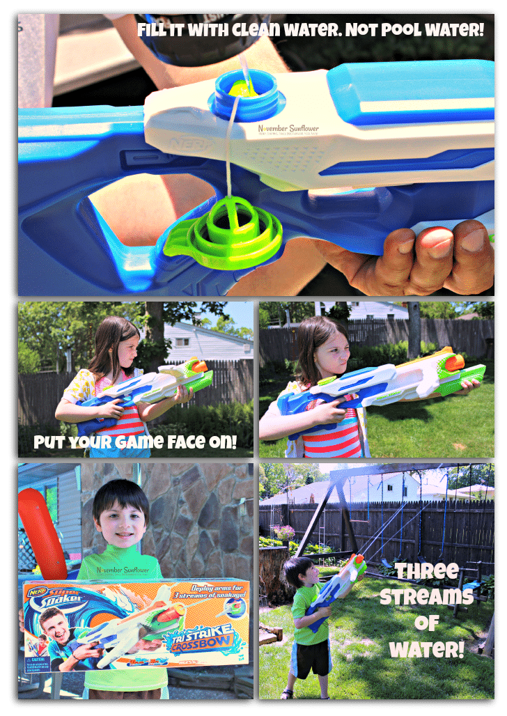 water toy for summer #nerf #supersoaker #summertoy