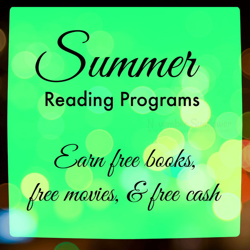 summer reading programs #summerreading #freemoney