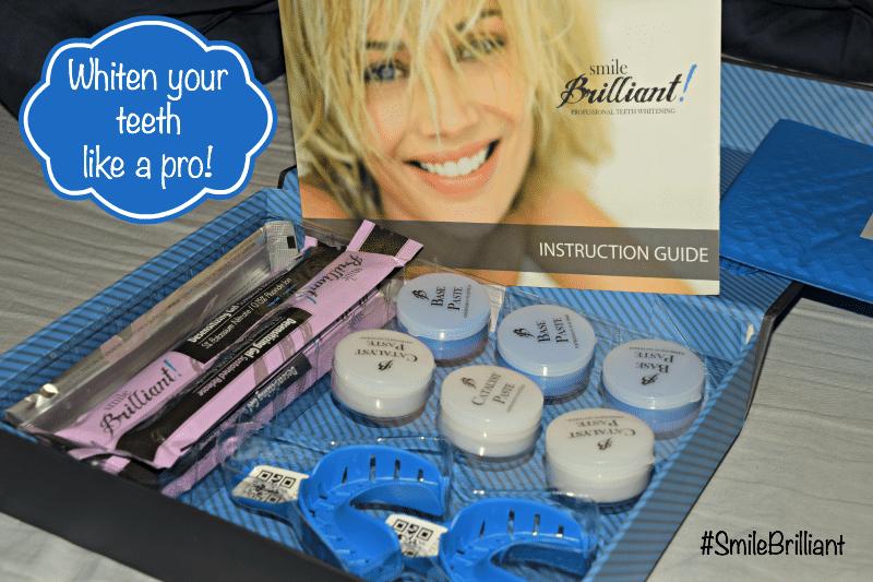 teeth whitening #smilebrilliant #sponsored