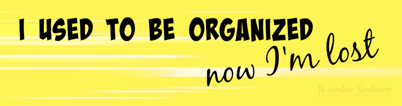 to be organized #organized #organization