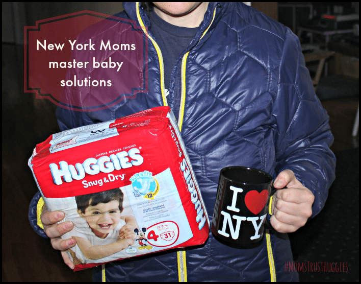 New York Mom baby solutions #momstrusthuggies #collectivebias #ad
