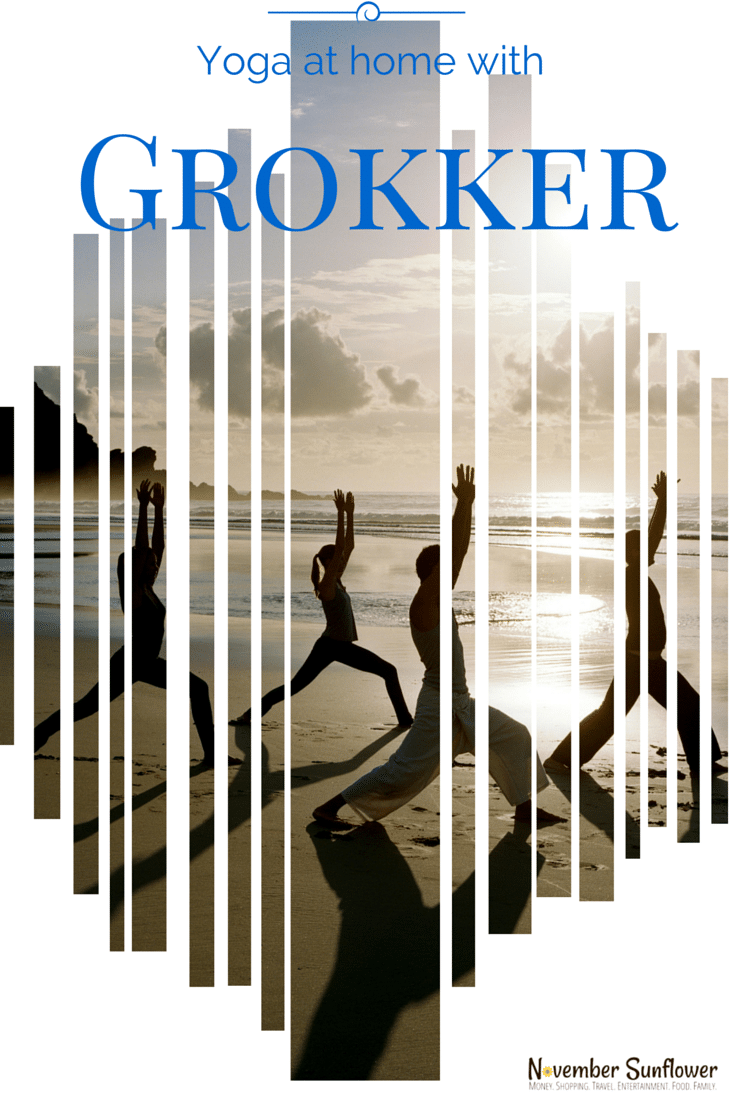 Yoga at home with Grokker #Grokker #yoga #fitness #health