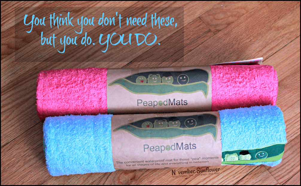 peapodmats for potty training #peapodmats #waterproofmats