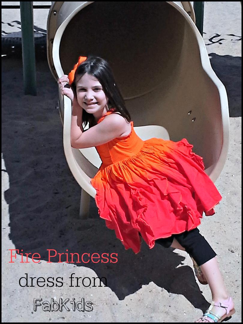 FabKids Fire Princess #kidsfashion #summerfashion