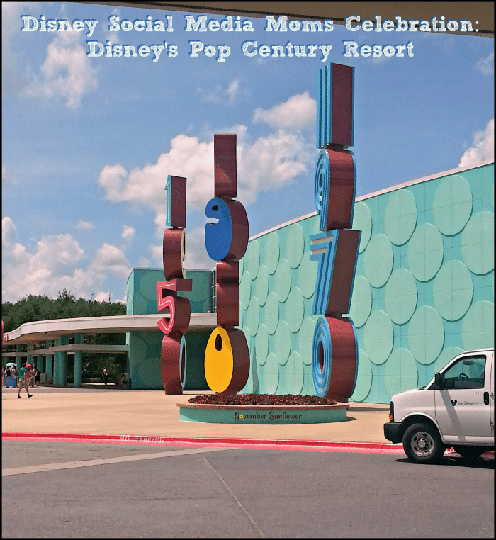Disney Social Media Moms Celebration: Disney's Pop Century Resort #DisneySMMC #DisneyPopCentury #disneytravel #familytravel