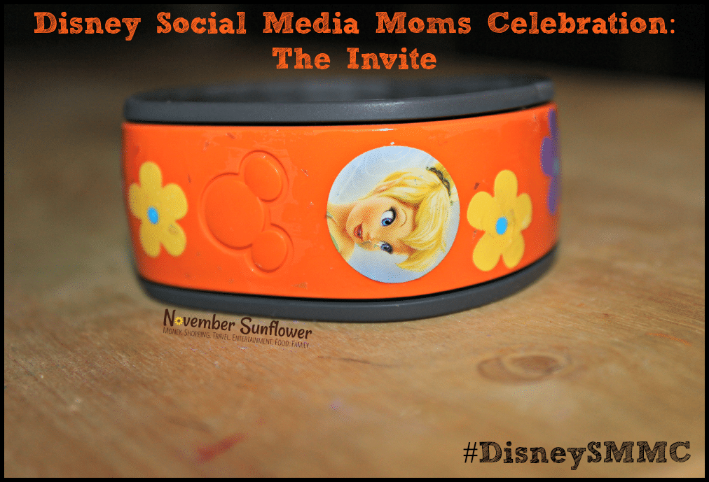 Disney Social Media Moms Celebration: The Invite