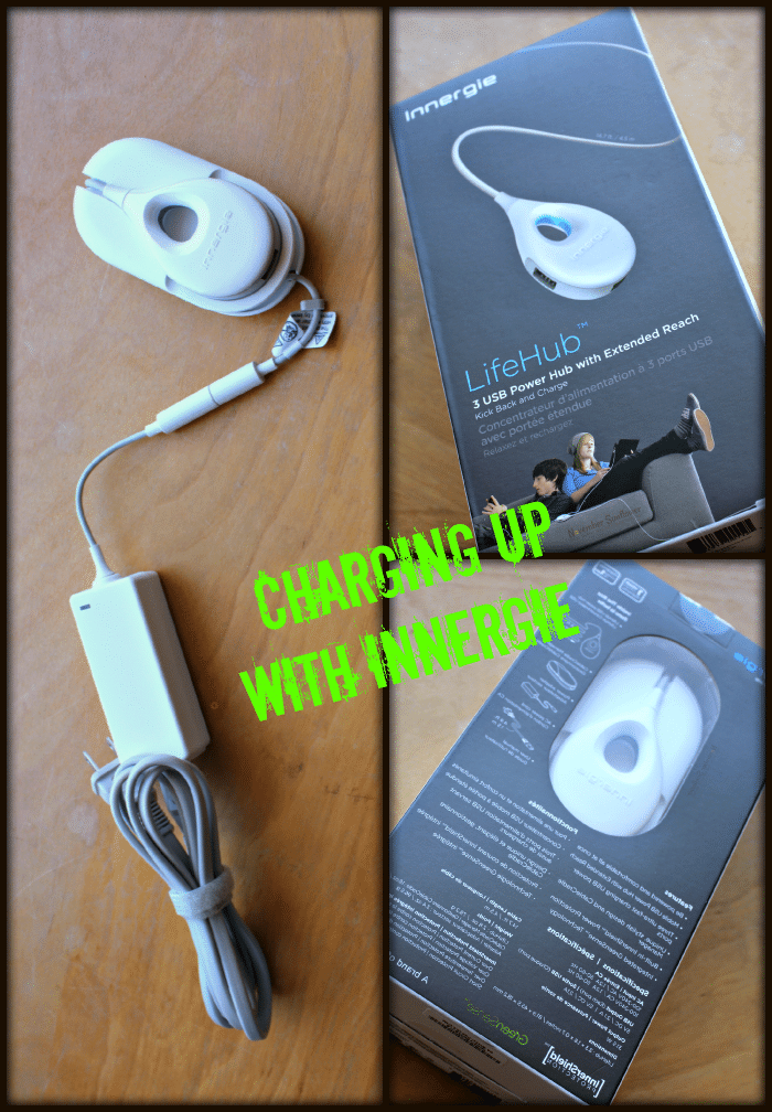 Charging up with Innergie #innergie #portablecharger #sponsored