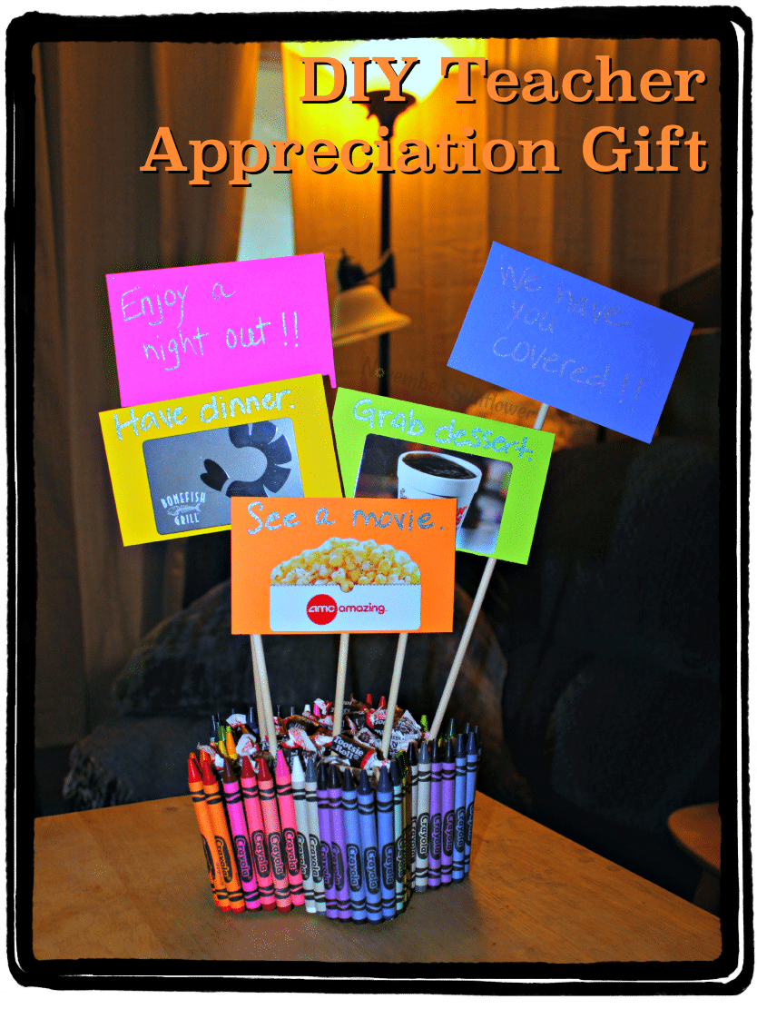 DIY Teacher Appreciation Gift #DIYProject #DIYTeacherGift