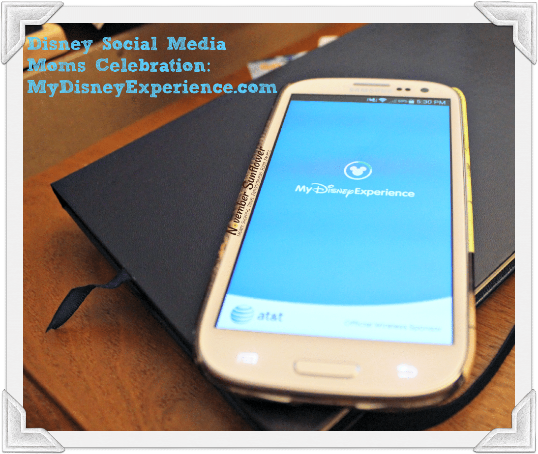 Disney Social Media Moms Celebration: MyDisneyExperience.com