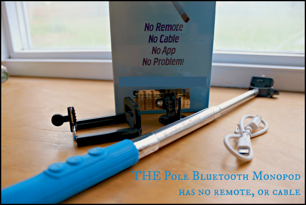 THE Pole Bluetooth Monopod has no remote, or cable #sponsored #selfiestick #disneyban