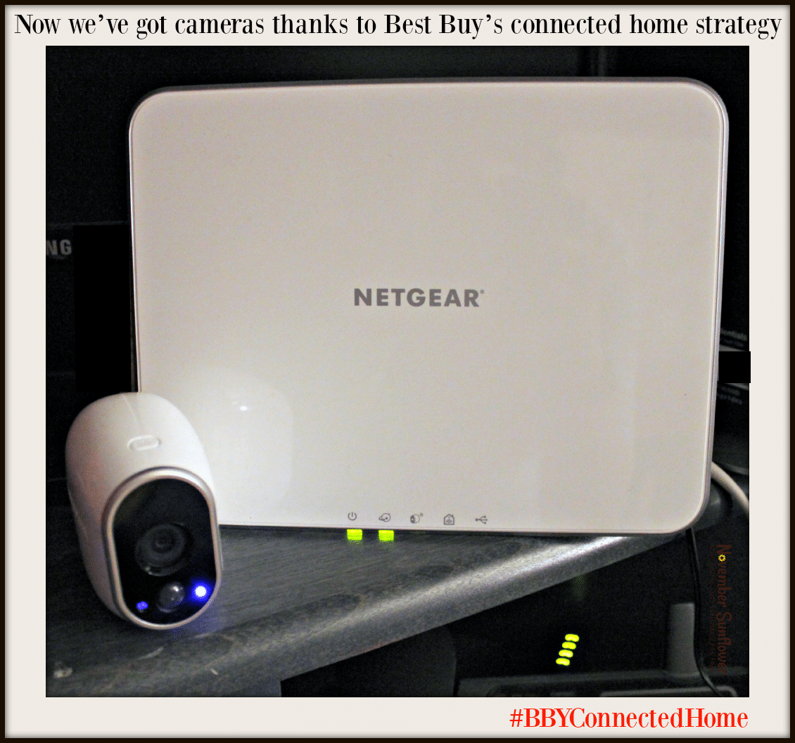 Connected home with Netgear Arlo Cameras