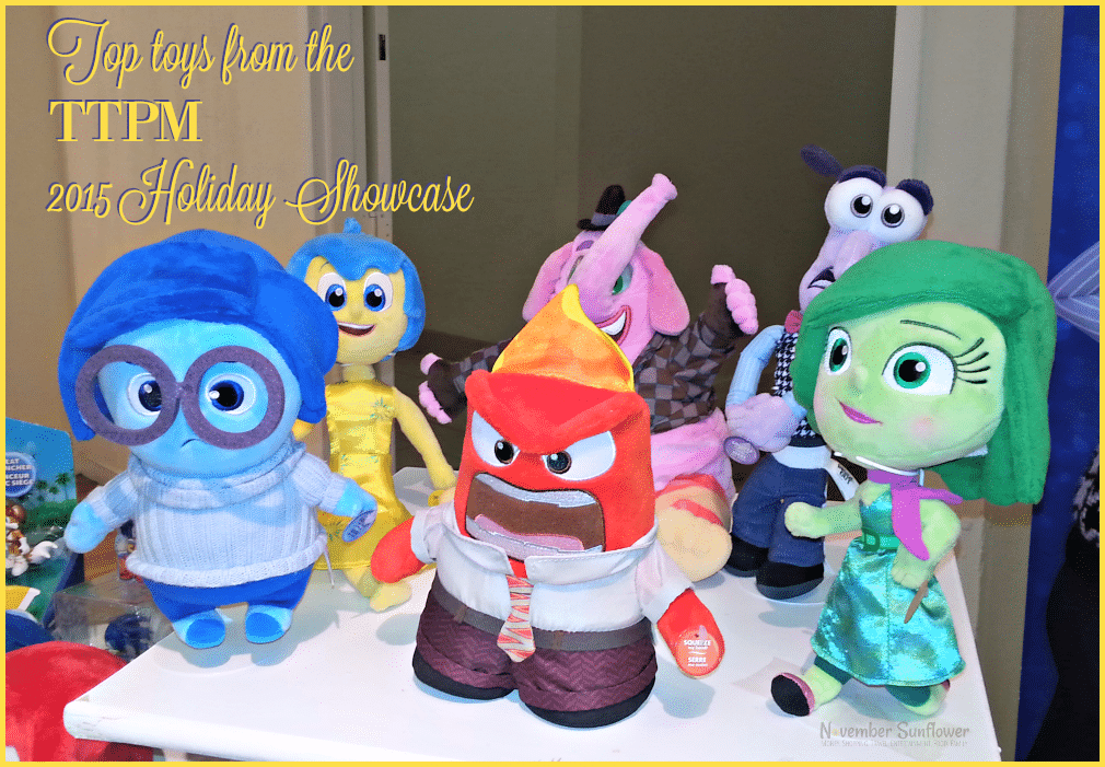 Top toys from the TTPM 2015 Holiday Showcase #holidays #toys #holidaygifts #giftgiving