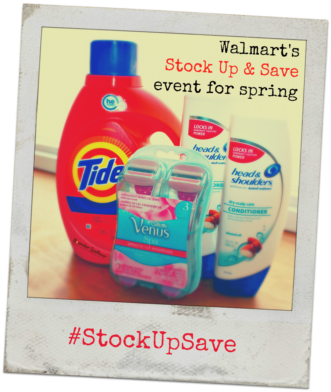 Walmart Stock Up and Save event for Spring [spons]