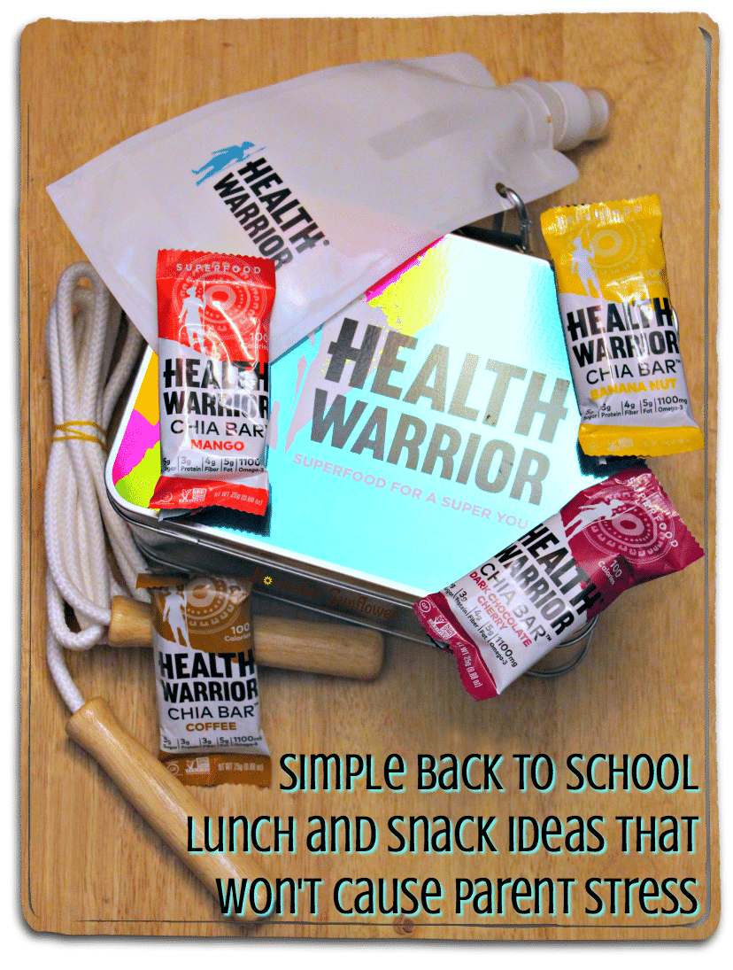 Simple back to school lunch and snack ideas that won't cause parent stress